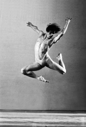 Rudolf Nureyev, Moments, with the Murray Louis Dance Company, 1977. Photograph © Francette Levieux