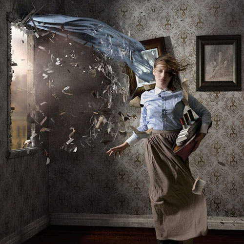 Perpetual Motion, by Jamie Baldridge. Courtesy of Modernbook Gallery