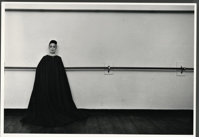 Arnold Newman, Martha Graham, dancer, choreographer and teacher, New York, 1961, 45 1/2 x 53 1/2 in. Gelatin silver print © 1961. Arnold Newman/Getty Images.