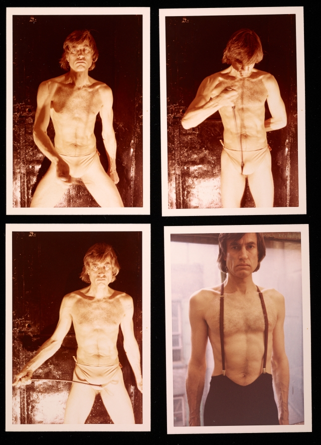 Self-Portraits, Sam Wagstaff, 1973 (The Getty Research Institute, Los Angeles (2005.M.46)